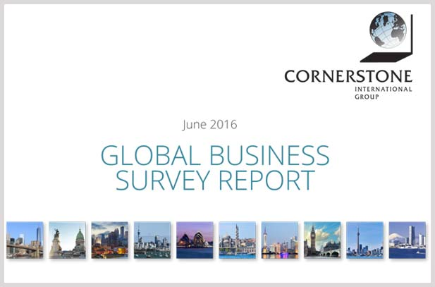 2016 GLOBAL BUSINESS SURVEY REPORT
